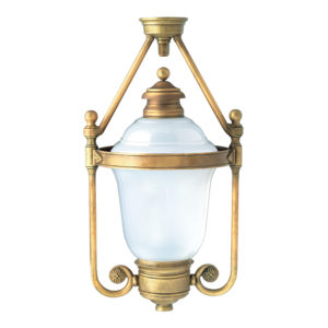 Fontes de Paris - Luminaires Classiques - Condamine suspendu - Version dôme lumineux