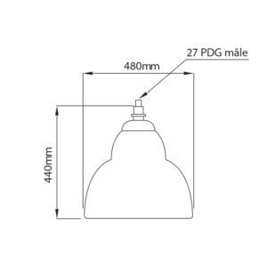 Fontes de Paris - Luminaires rétros - Vénus - CAD
