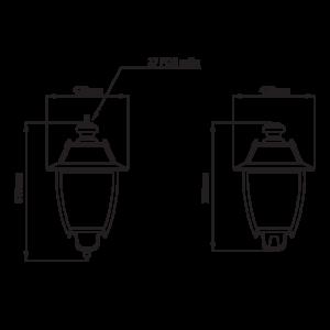 Fontes de Paris - Luminaires rétros - Talisse CAD