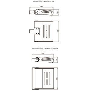 Fontes de Paris - Luminaires Fonctionnels - Estrema 120 - CAD