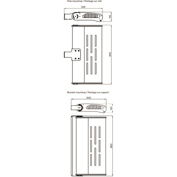 Fontes de Paris - Luminaires Fonctionnels - Estrema 240 - CAD