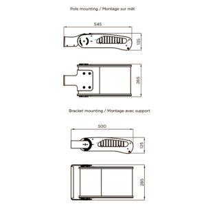 Fontes de Paris - Luminaires Fonctionnels - Estrema 40 - CAD