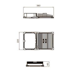 Fontes de Paris - Luminaires Fonctionnels - Minis - CAD